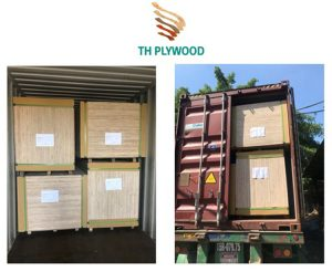 loading commercial plywood